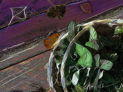 Art: Autumn Harvest by Artist Alma Lee