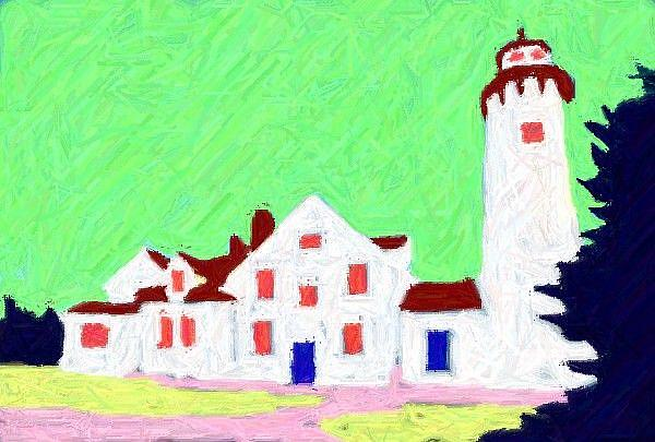 Art: A Light House by Artist Shane Darren Ervin