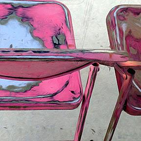 Detail Image for art Saved you a Chair