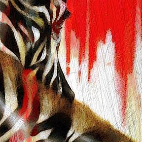 Detail Image for art Zebra II