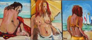 Detail Image for art Beach Diva No.4