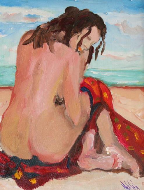 Art: Beach Diva No5 by Artist Delilah Smith