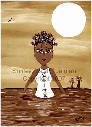 Art: Goddess by Artist Shirley Inocenté