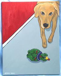 Art: Stalking Bozo by Artist Jenny Doss