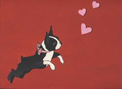Art: Puppy Love #4 by Artist Jenny Doss