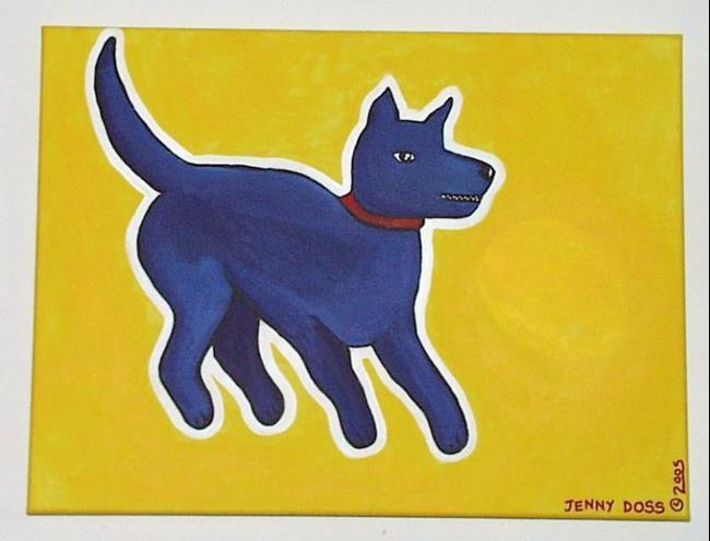 Art: Cave Canem: Beware of Dog by Artist Jenny Doss