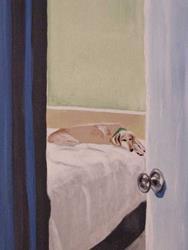 Art: Stolen Nap by Artist Jenny Doss