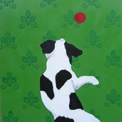 Art: Jumping Jack by Artist Jenny Doss