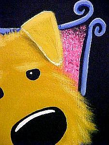 Detail Image for art Airedale:
