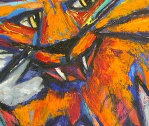 Detail Image for art Shock Kitty
