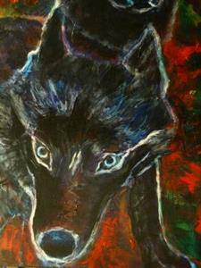 Detail Image for art Ghost Dogs