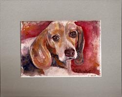 Art: Beagle by Artist Penny StewArt