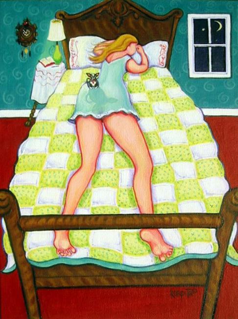 Art: Night Watch by Artist Rebecca Stringer Korpita