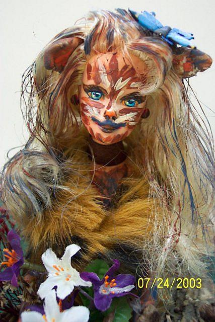 Art: Doll-Cat #1 by Artist Karin Elizabeth Weiss