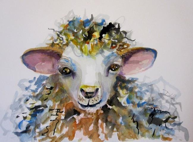 Art: Spring Lamb by Artist Delilah Smith