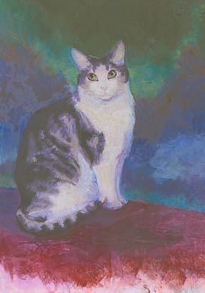 Art: Sitting Pretty by Artist Carol Thompson