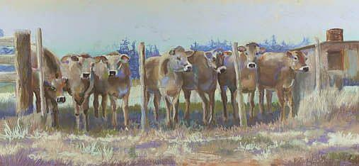 Art: Seven Sisters by Artist Carol Thompson