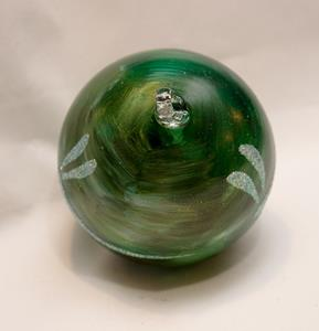 Detail Image for art 2012 Dragonfly Ball Green Marble # 9 of 24