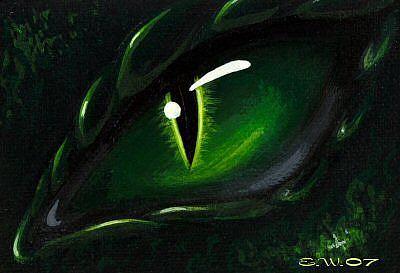 Art: Eye Of Orrin by Artist Elaina Wagner