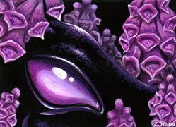 Art: In The Foxgloves by Artist Elaina Wagner
