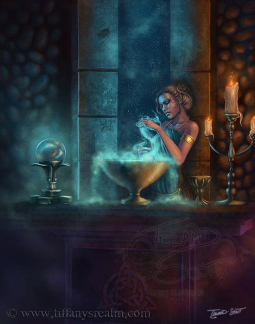 Art: Phantasmal Familiar by Artist Tiffany Toland-Scott