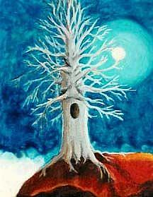 Art: SOLD - The Devil's Tree by Artist Shawn Marie Hardy