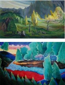 Detail Image for art NFS - The Clearing - an Emily Carr vision