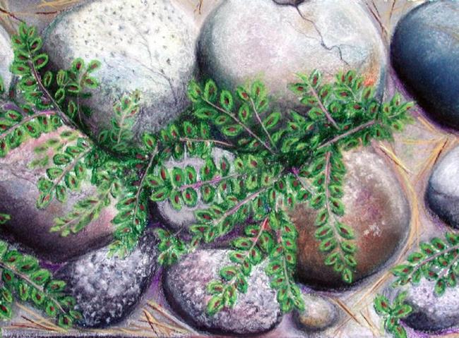 Art: Sold - In Izzy's Garden by Artist Shawn Marie Hardy