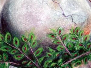 Detail Image for art Sold - In Izzy's Garden