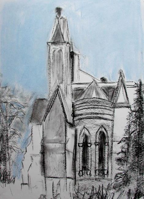 Art: unfinished cathedral by Artist Shawn Marie Hardy