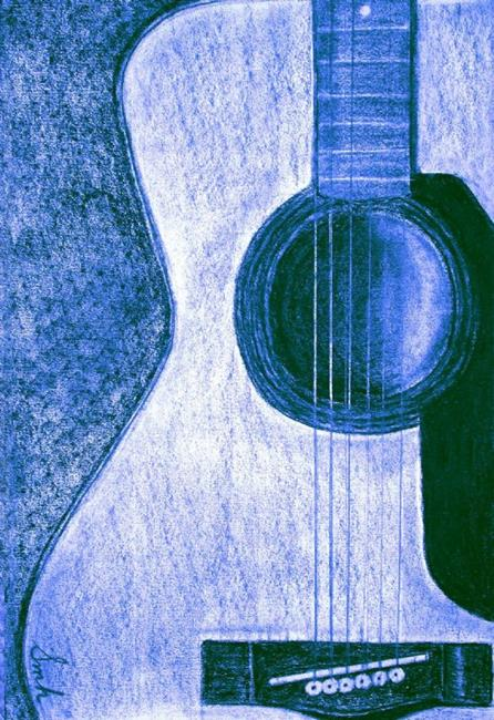 Art: SOLD - My Guitar - A Dedication by Artist Shawn Marie Hardy
