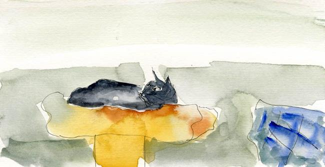Art: The Upper Shelf by Artist Gabriele M.