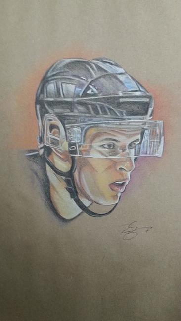 Art: CROSBY by Artist Richard R. Snyder