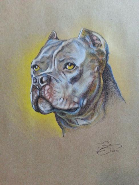 Art: Creature from Villalobos Rescue Ctr by Artist Richard R. Snyder