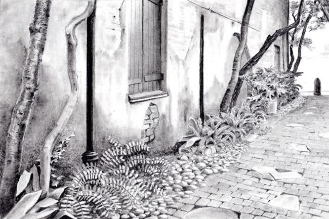 Art: Philadelphia Alley by Artist Robin Cruz McGee