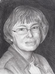 Art: Sharon by Artist Robin Cruz McGee