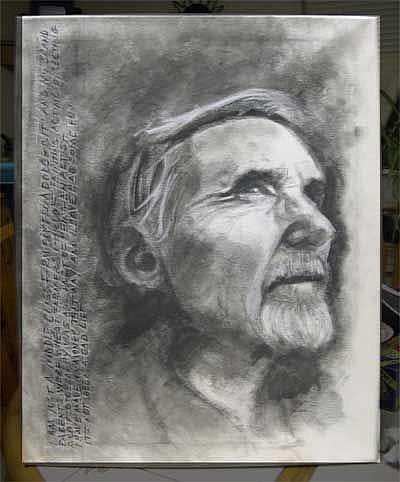 Art: Dennis Hopper tribute by Artist Richard R. Snyder