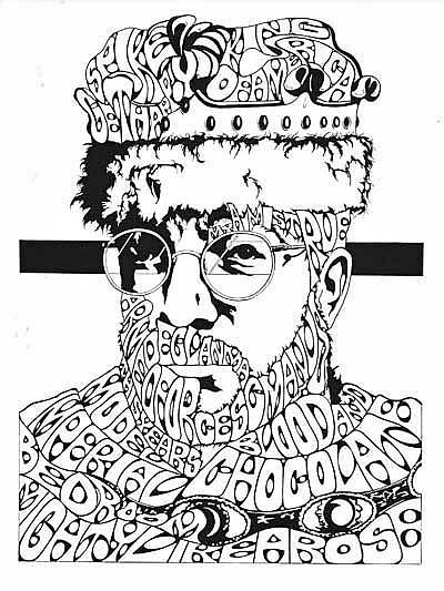 Art: ElvisCostello by Artist Richard R. Snyder