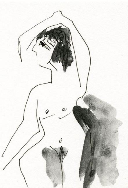 Art: Pocket Nudes 2 by Artist Gabriele Maurus