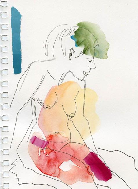 Art: Nude in peace by Artist Gabriele Maurus
