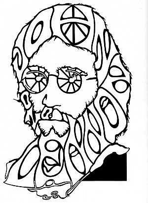 Art: Lennon by Artist Richard R. Snyder