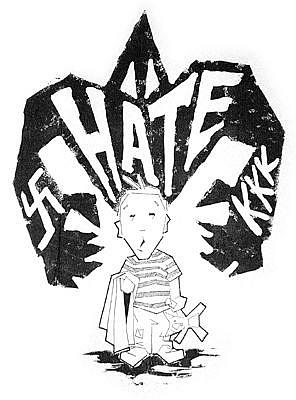 Art: hate by Artist Richard R. Snyder