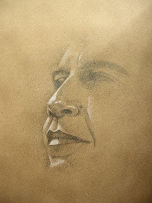 Art: Barack Obama by Artist Richard R. Snyder