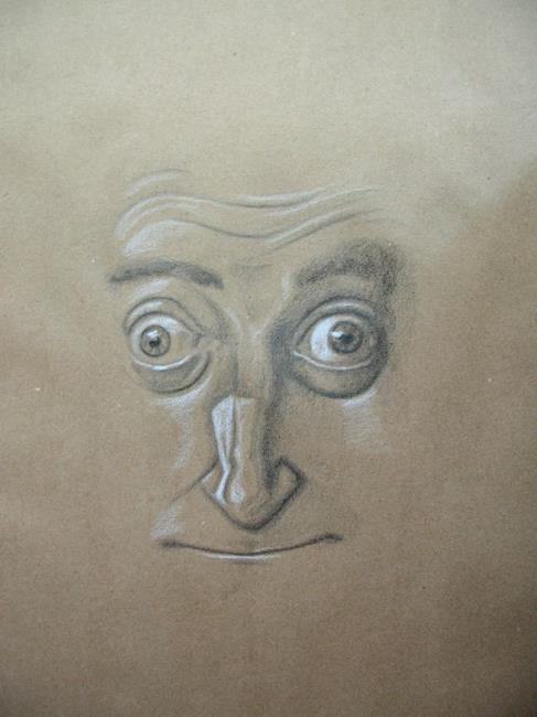 Art: Marty Feldman by Artist Richard R. Snyder