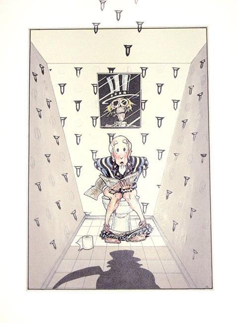 Art: warmongers by Artist Richard R. Snyder