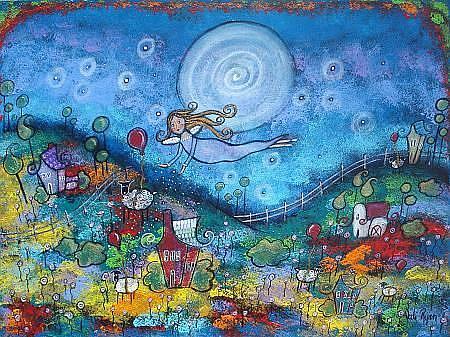 Art: The Sleep Fairy by Artist Juli Cady Ryan