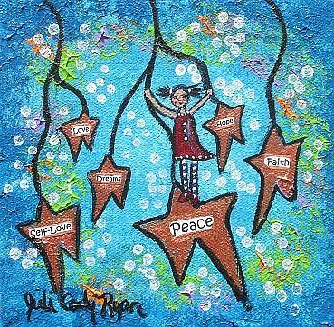 Art: Wishing On Stars by Artist Juli Cady Ryan