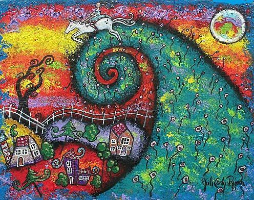 Art: Dreams Of Flight by Artist Juli Cady Ryan
