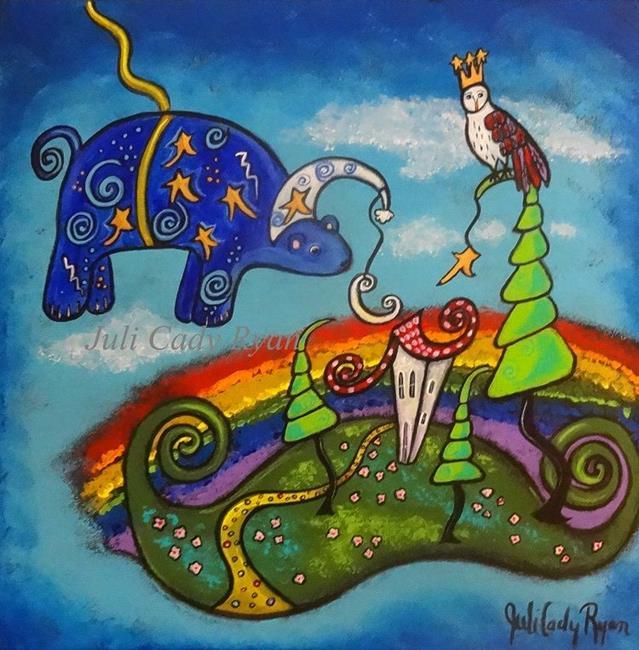 Art: Sweet Dreams II by Artist Juli Cady Ryan