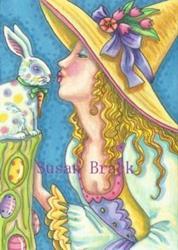 Art: SOME EASTER MAGIC by Artist Susan Brack